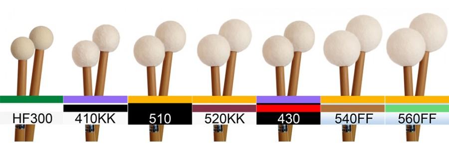 Set A:  HF300 + 6 pairs